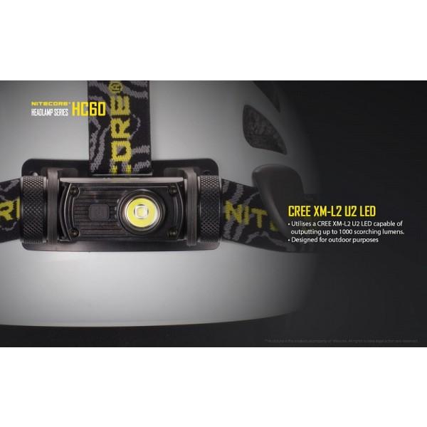 Nitecore HC60, Lanternă Frontală #6