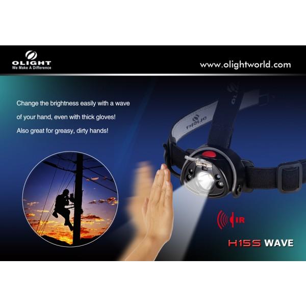 lanterna frontala Olight H15S reincarcabila.jpg