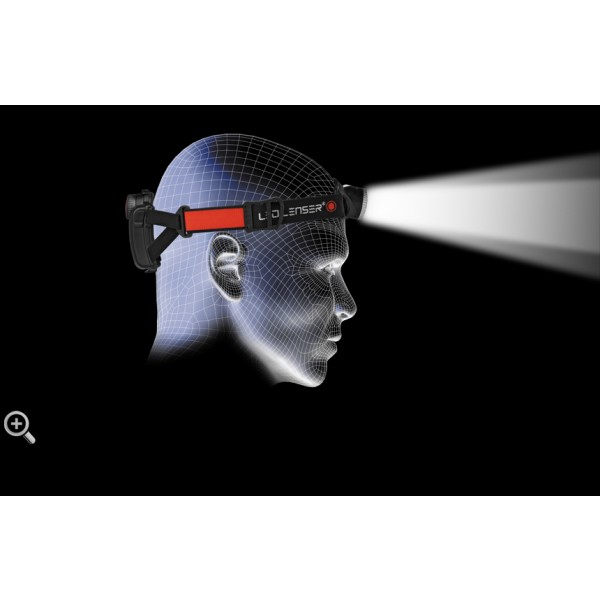 Lanternă Frontală Reîncărcabilă LED Lenser H7R.2