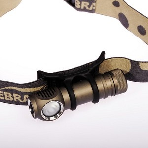 Lanterna frontala ZebraLight H600w Mk II 18650 XM-L2 LED