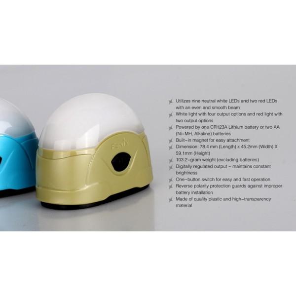 Lanterna LED de camping Fenix CL20 Verde Oliv