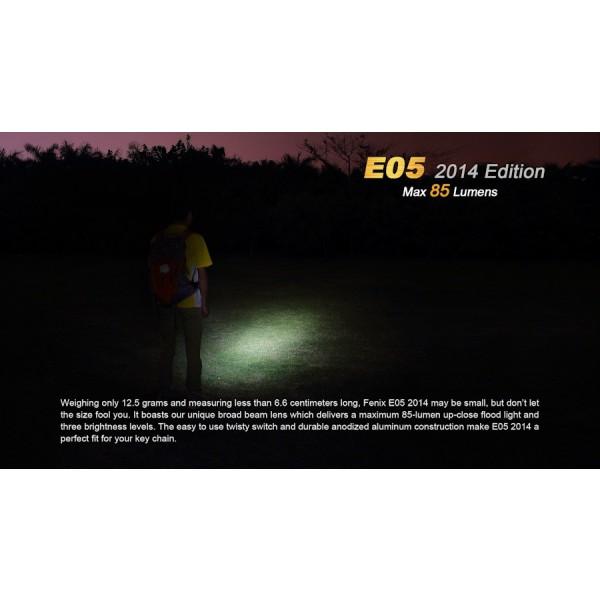 Lanterna LED Fenix E05 XP-E2 85 lumeni