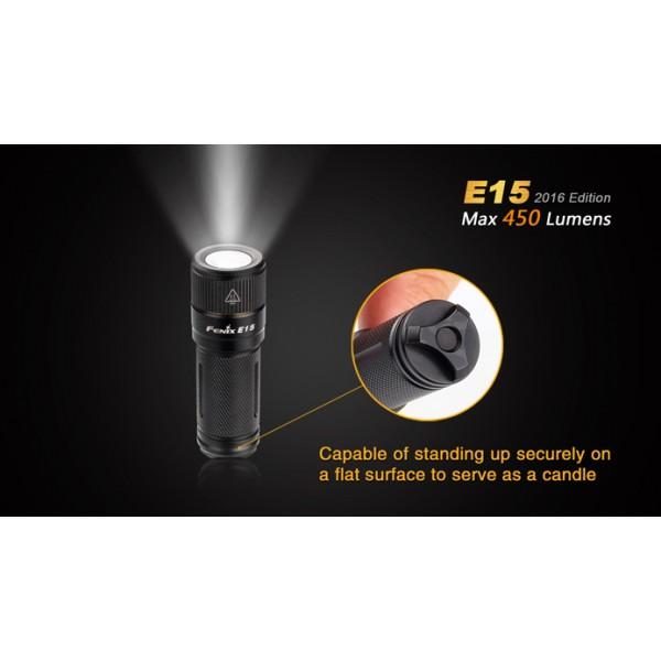 Lanterna LED Fenix E15 Versiune 2016