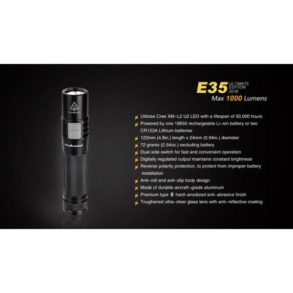Lanterna LED Fenix E35UE 2016