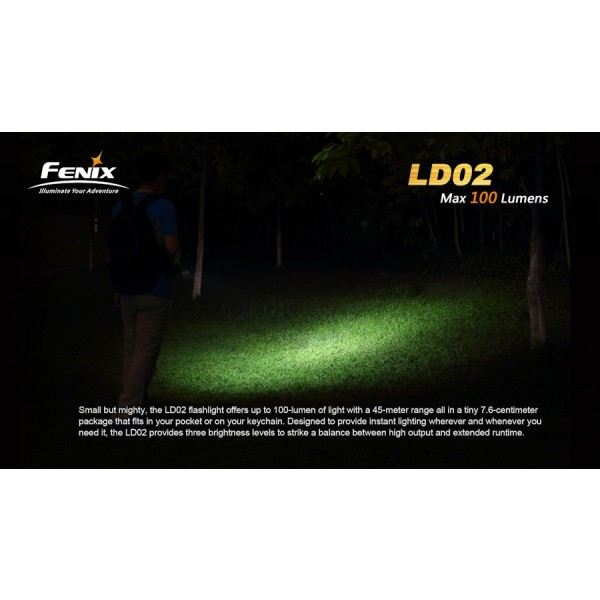 Lanterna LED Fenix LD02 100 lumeni