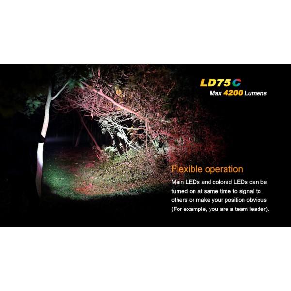 Lanterna LED Fenix LD75C