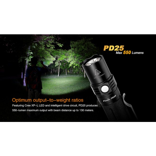 Lanterna LED Fenix PD25
