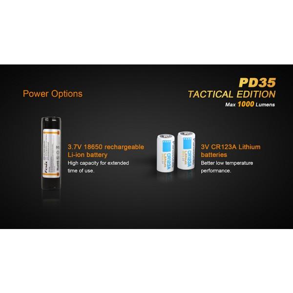Lanterna LED Fenix PD35 Tactical Edition XP-L