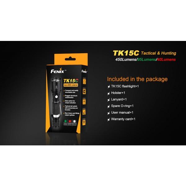 Lanterna LED Fenix TK15C