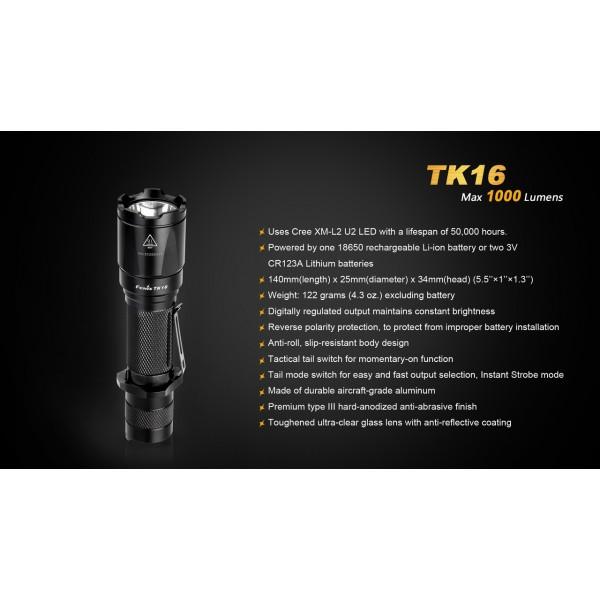 Lanterna LED Fenix TK16