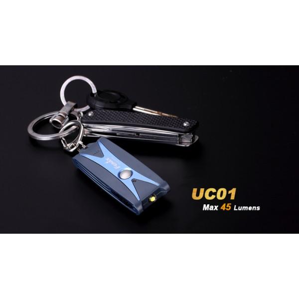 Fenix UC01 Albastră (Reîncărcabilă)