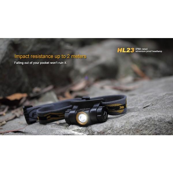Lanterna LED frontala Fenix HL23 Champagne Gold