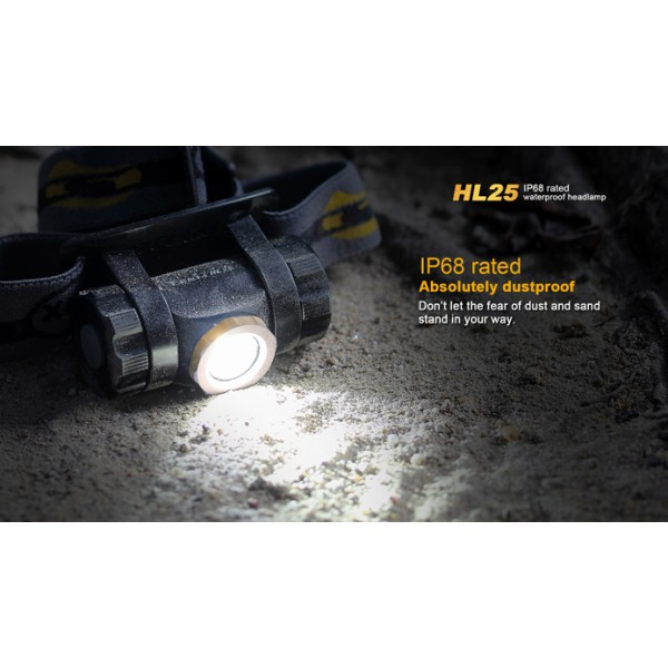Lanterna LED frontala Fenix HL25 Champagne Gold