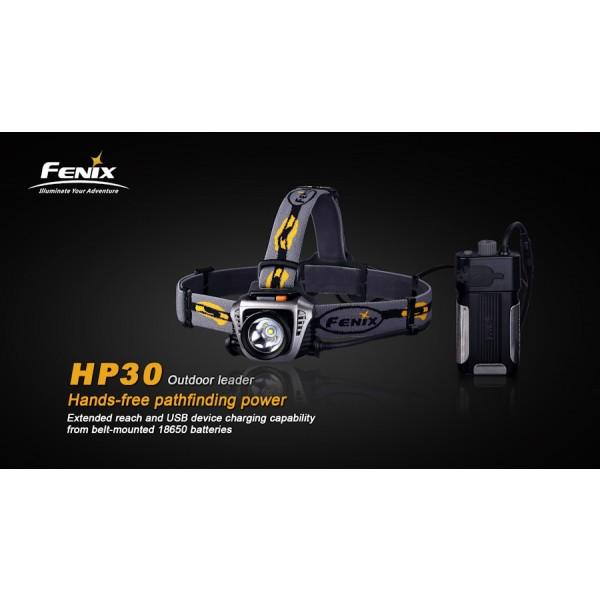 Lanterna LED frontala Fenix HP30