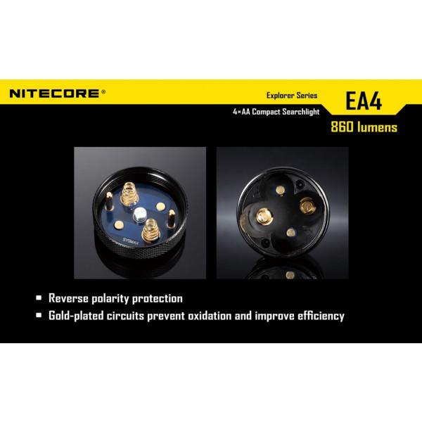 Lanterna LED Nitecore EA4 ( White)