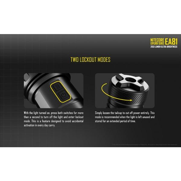 Lanterna LED Nitecore EA81