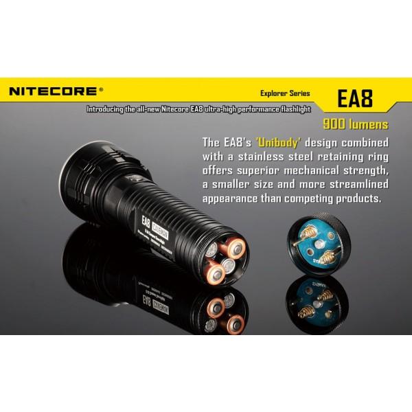 Lanterna LED Nitecore EA8 (White)