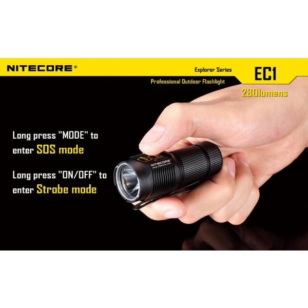 Lanterna LED Nitecore EC1