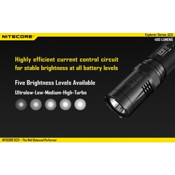 Lanterna LED Nitecore EC21