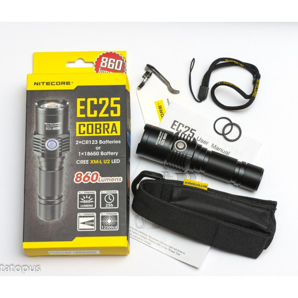 Lanterna LED Nitecore EC25 Cobra Neutral White