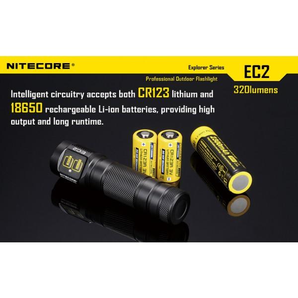 Lanterna LED Nitecore EC2
