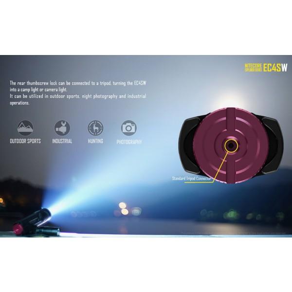 Nitecore EC4SW, Lanternă Led
