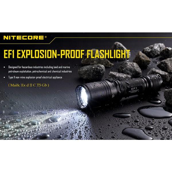 Lanterna LED Nitecore EF1