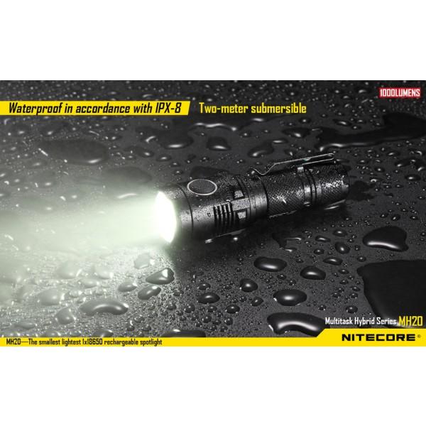 Nitecore MH20W, Lanternă Reîncărcabilă