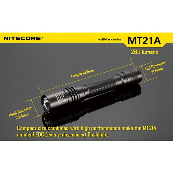 Lanterna LED Nitecore MT21A
