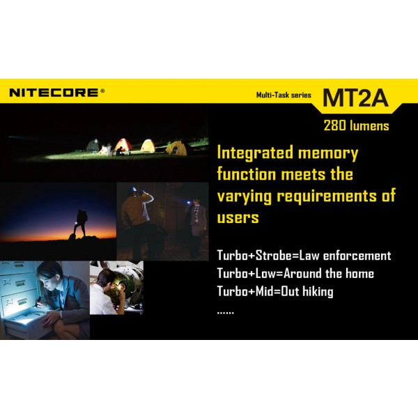Lanterna LED Nitecore MT2A