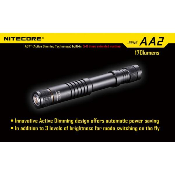 lanterna LED Nitecore SENS AA2