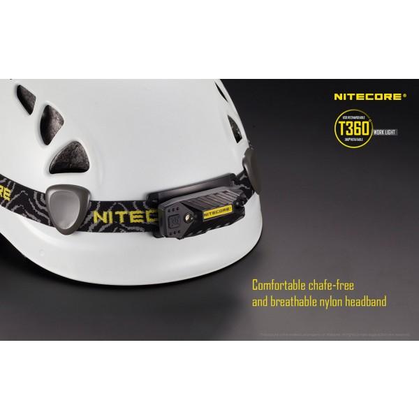 Lanterna LED Nitecore T360 (Reîncărcabilă USB)