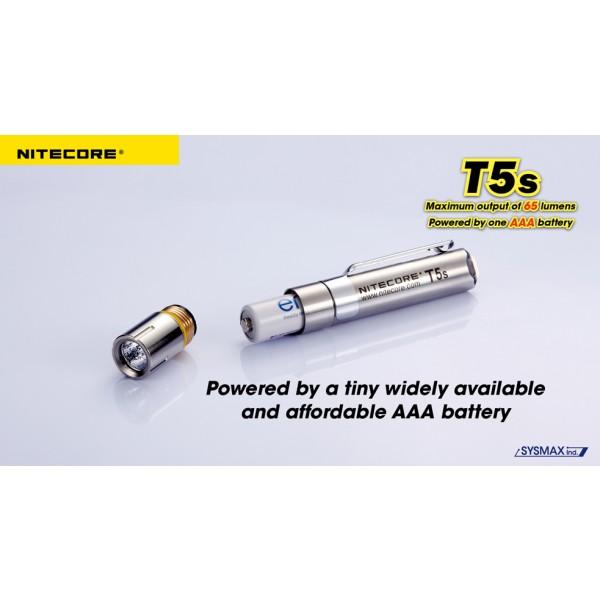 Lanterna LED Nitecore T5s