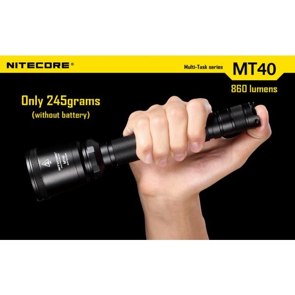 Lanterna LED profesionala Nitecore MT40