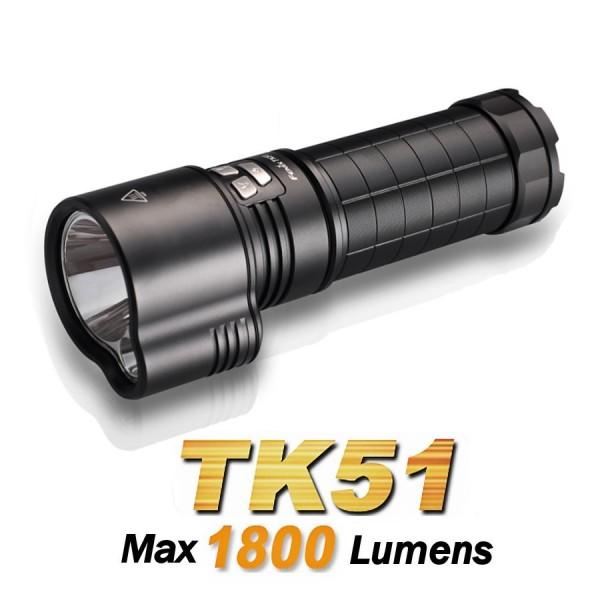 Lanterna Led Profesionala Fenix TK51 easylight.ro