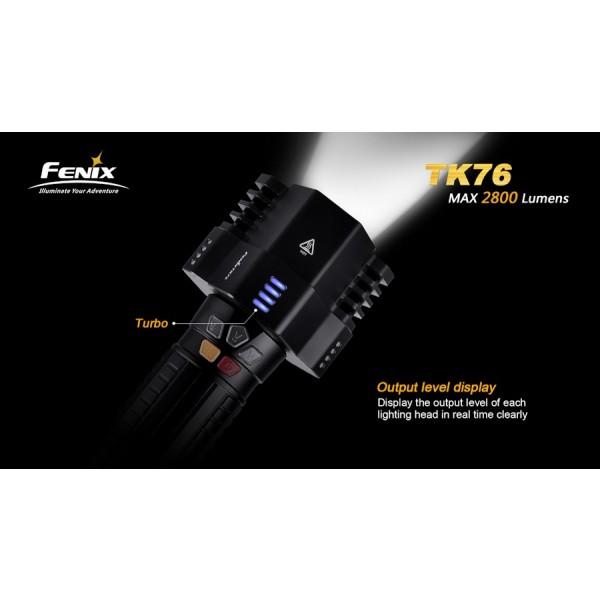 Lanterna LED Profesionala Fenix TK76 easylight.ro