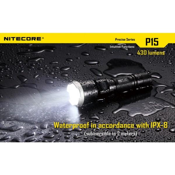Lanterna LED profesionala Nitecore P15