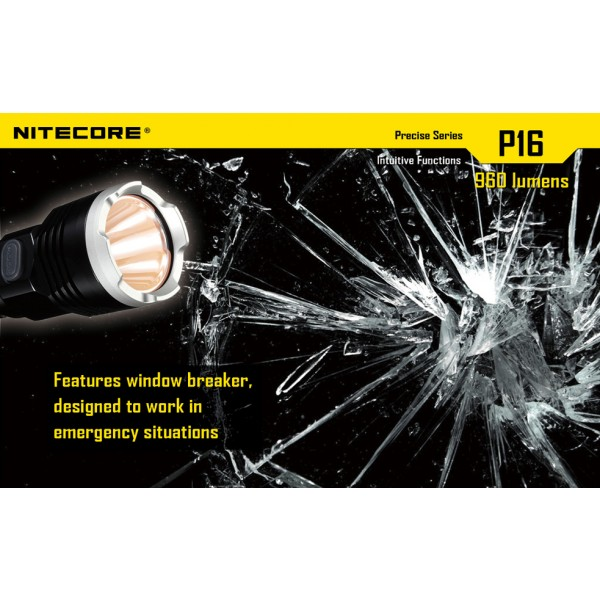 Lanterna LED profesionala Nitecore P16