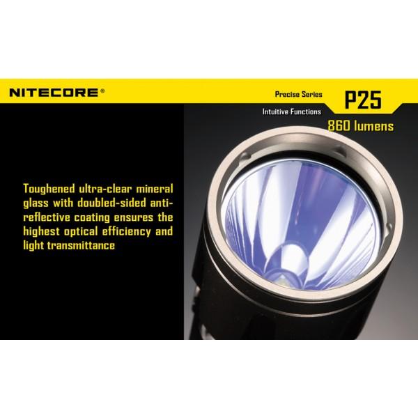 Lanterna LED profesionala Nitecore P25