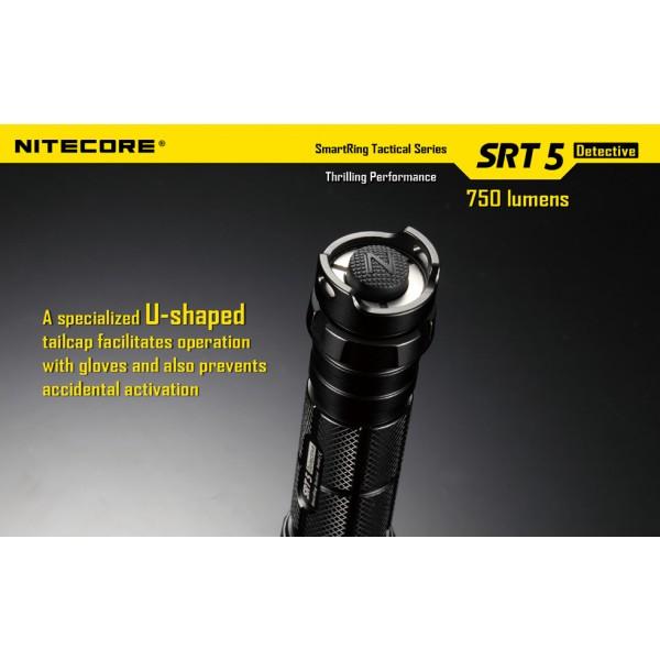 lanterna LED profesionala Nitecore SRT5