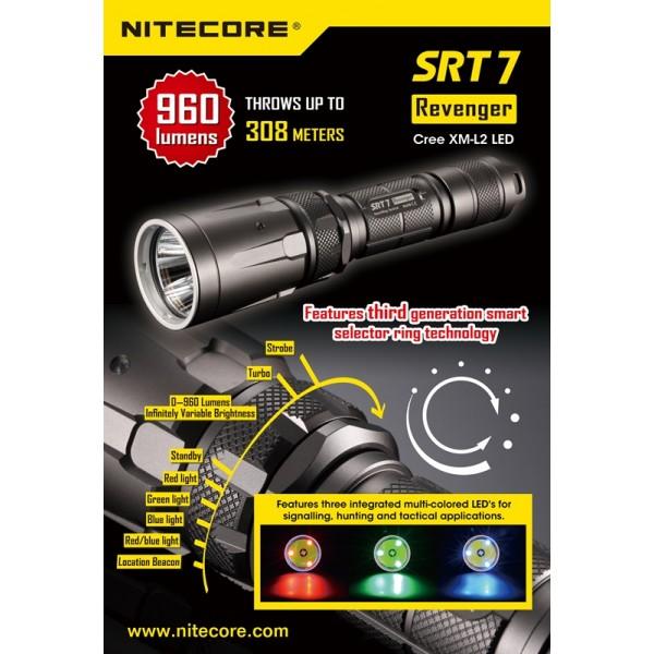 Lanterna LED profesionala Nitecore SRT7
