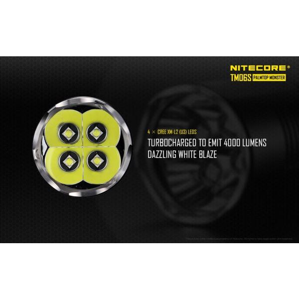 Lanterna LED profesionala Nitecore TM06s