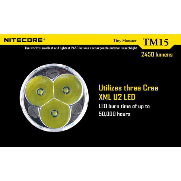 Lanterna LED Profesionala TM15 Nitecore