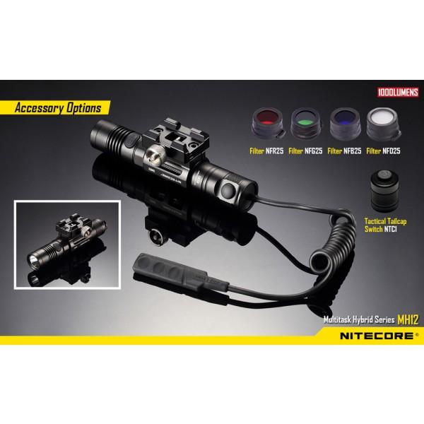 Nitecore MH12W, Lanternă Led #7