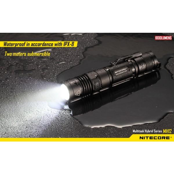 Nitecore MH12W, Lanternă Led #12