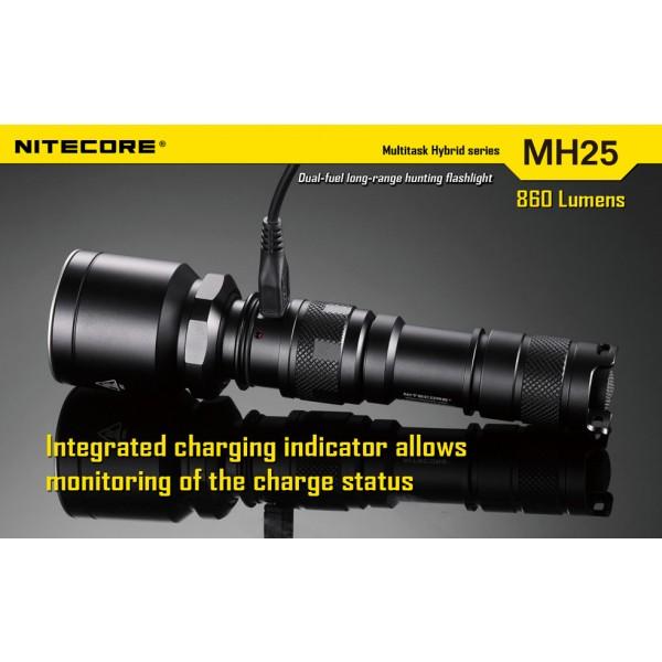 lanterna LED reincarcabila Nitecore MH25