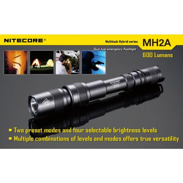 lanterna led reincarcabila nitecore mh2a