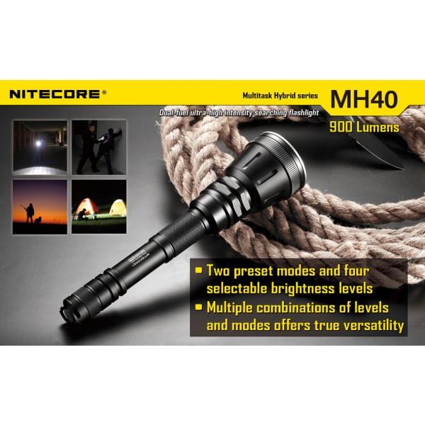 lanterna LED reincarcabila Nitecore MH40