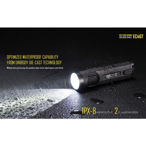 Nitecore EC4GT, Lanternă Led
