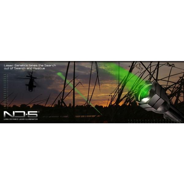 Lanterna profesionala Laser Genetics ND5 2xCR123A